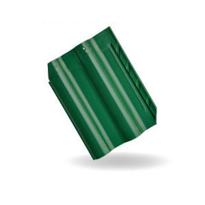 Asiana Glazed Dark Green